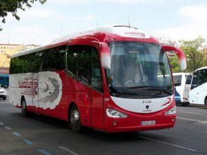 Alquiler Autocares para Clubes Deportivos Madrid