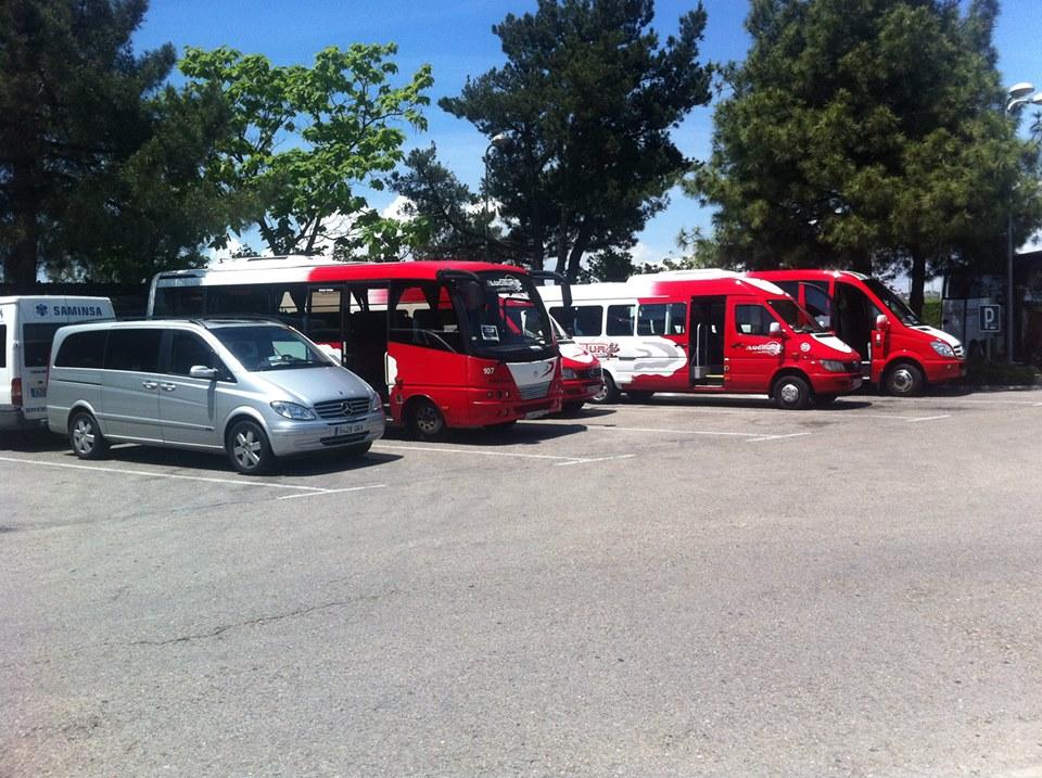 Servicio parking de autocares