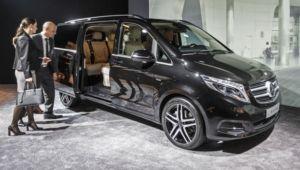 Mercedes V familia VIP